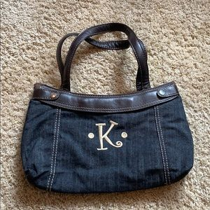 Thirty-One purse, changeable outside cover.  Shown